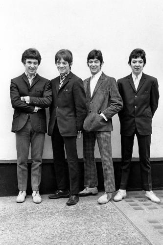 The Small Faces looking relaxed during a photo session in the mid 1960s.