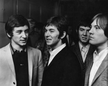 Members of The Small Faces photographed in 1965.