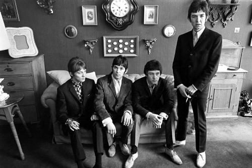 The Small Faces during a photo shoot