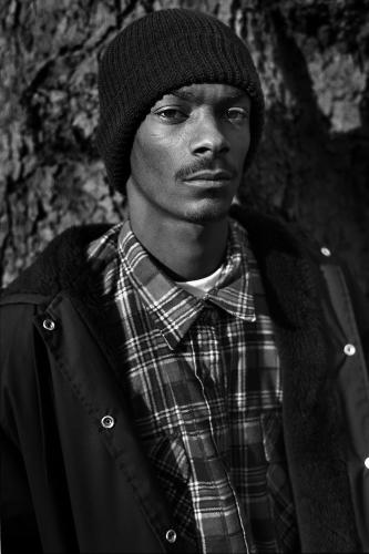 Snoop Dogg photographed in Holland Park