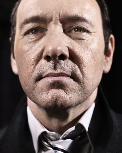 Kevin Spacey photographed in 2008 by Chris Floyd.