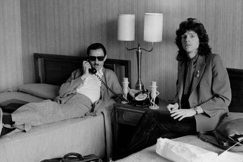 Sparks photographed in 1975 by Janet Macoska.