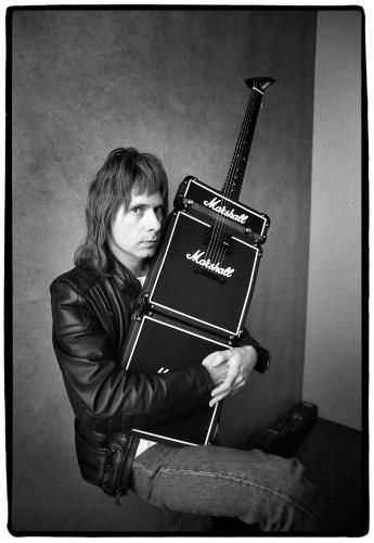 Christopher Guest of Spinal Tap photographed in Los Angeles during the early 1990s.