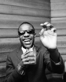 Stevie Wonder at The Cumberland Hotel, London, 1966. The 15-year-old is in the UK to promote his current release, Uptight (Everything's Alright),and to play a number of concert dates.