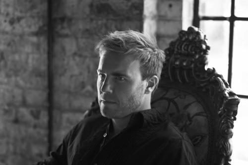 Gary Barlow of Take That photographed by Chris Floyd in 2008.