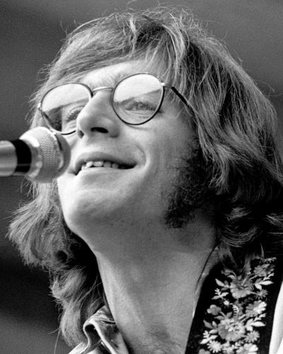 John Sebastian of The Lovin' Spoonful photographed on stage