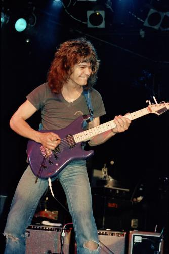 Eddie Van Halen at the Roxy April 29