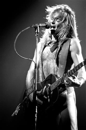 David Lee Roth of Van Halen 1981.