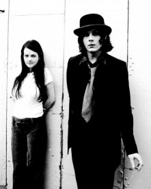 Meg and Jack White of The White Stripes shot at The Greek Theatre in Berkeley