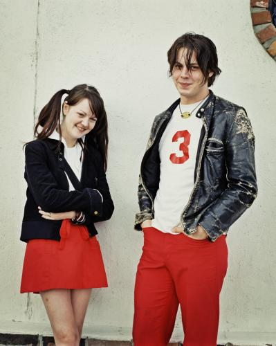 Jack and Meg of the White Stripes