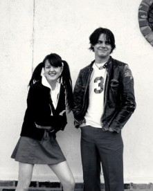 The White Stripes photographed for the NME