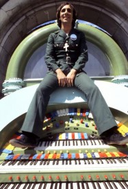 Keith Moon in the 1975 film 'Tommy'.