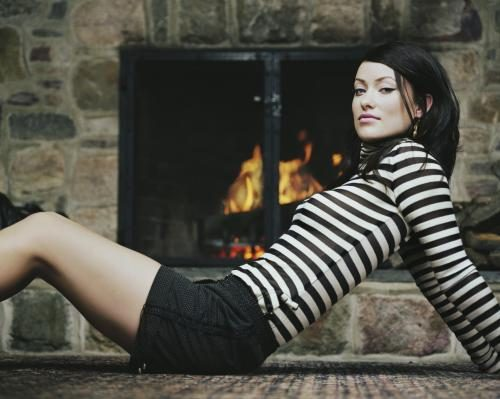 Actress Olivia Wilde photographed by Chris Floyd