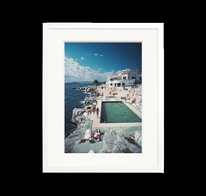 Slim Aarons Pool Hotel Du Cap Eden Roc